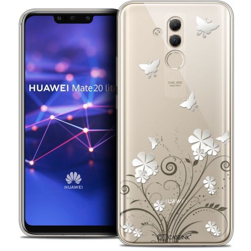 "Coque Crystal Gel Huawei Mate 20 Lite (6.3"") Extra Fine Summer - Papillons"