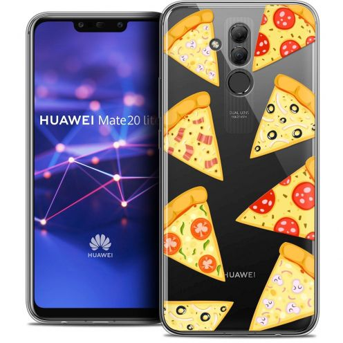 "Coque Crystal Gel Huawei Mate 20 Lite (6.3"") Extra Fine Foodie - Pizza"