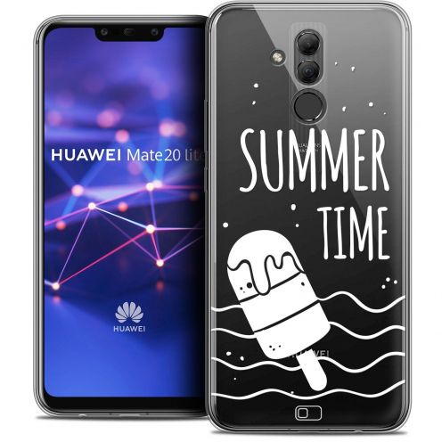 "Extra Slim Crystal Gel Huawei Mate 20 Lite (6.3"") Case Summer Summer Time"