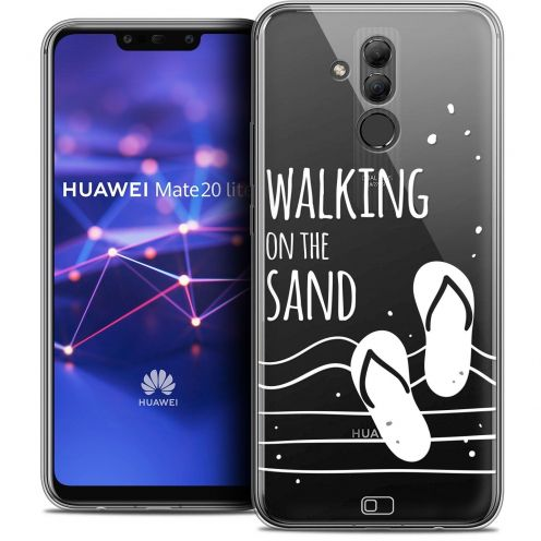 """Coque Crystal Gel Huawei Mate 20 Lite (6.3"""") Extra Fine Summer - Walking on the Sand"""