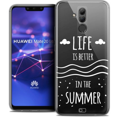 "Coque Crystal Gel Huawei Mate 20 Lite (6.3"") Extra Fine Summer - Life's Better"