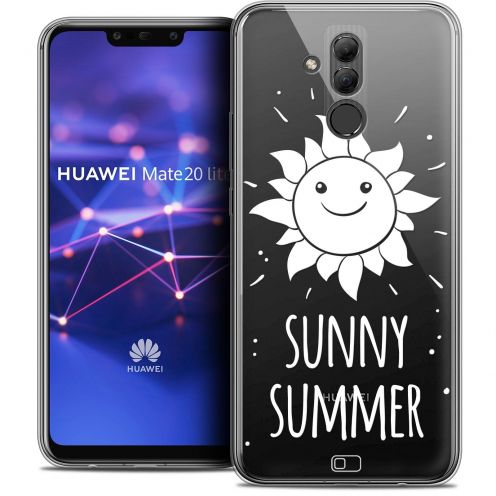 "Extra Slim Crystal Gel Huawei Mate 20 Lite (6.3"") Case Summer Sunny Summer"
