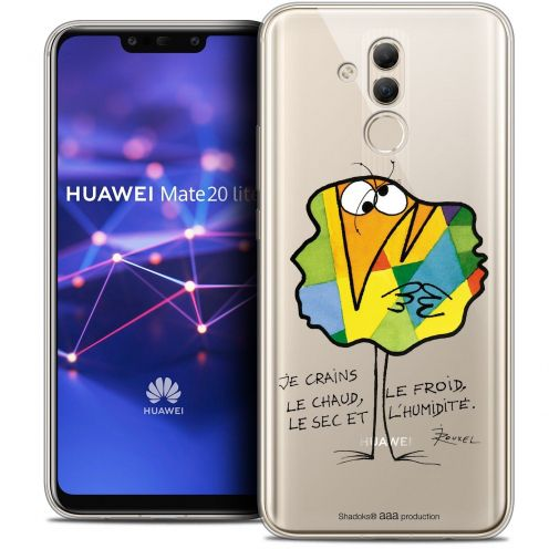 """Coque Gel Huawei Mate 20 Lite (6.3"""") Extra Fine Les Shadoks® - Chaud ou Froid"""