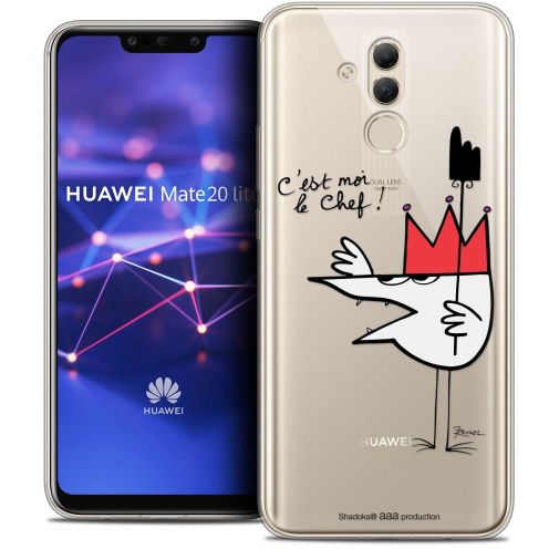 """Coque Gel Huawei Mate 20 Lite (6.3"""") Extra Fine Les Shadoks® - Le Chef"""