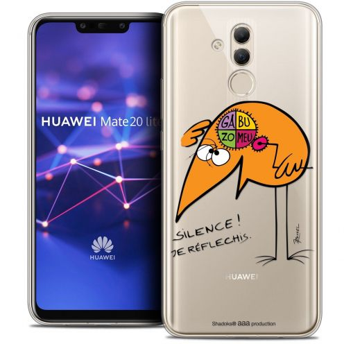 """Coque Gel Huawei Mate 20 Lite (6.3"""") Extra Fine Les Shadoks® - Silence !"""