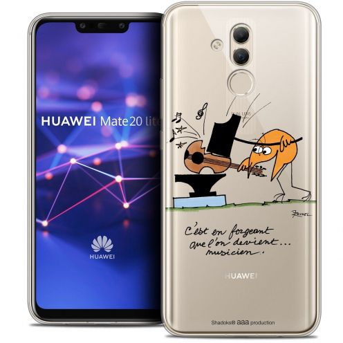 "Coque Gel Huawei Mate 20 Lite (6.3"") Extra Fine Les Shadoks® - Musicien"