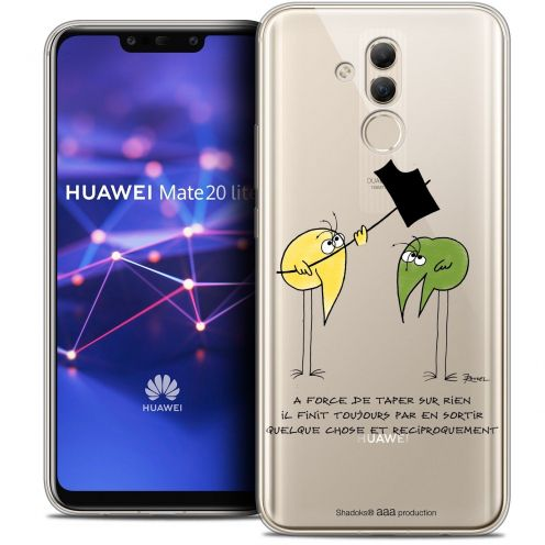 "Coque Gel Huawei Mate 20 Lite (6.3"") Extra Fine Les Shadoks® - A Force"