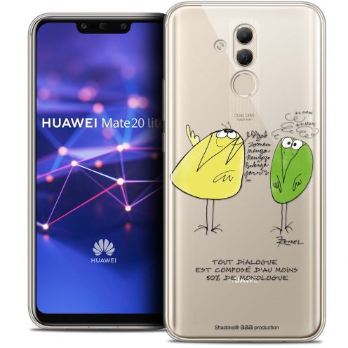 "Coque Gel Huawei Mate 20 Lite (6.3"") Extra Fine Les Shadoks® - Le Dialogue"