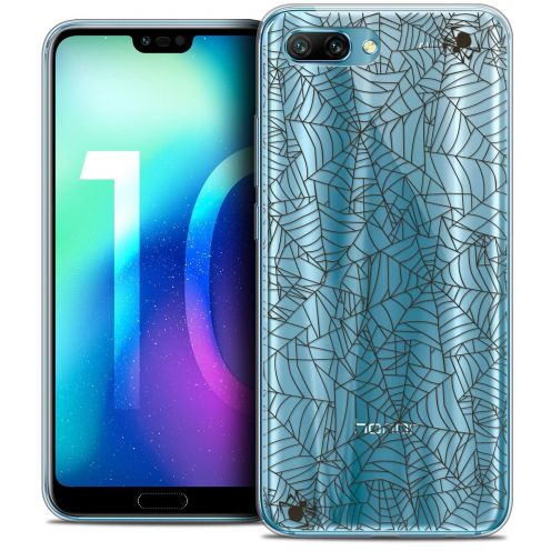 """Coque Crystal Gel Huawei Honor 10 (5.8"""") Extra Fine Halloween - Spooky Spider"""