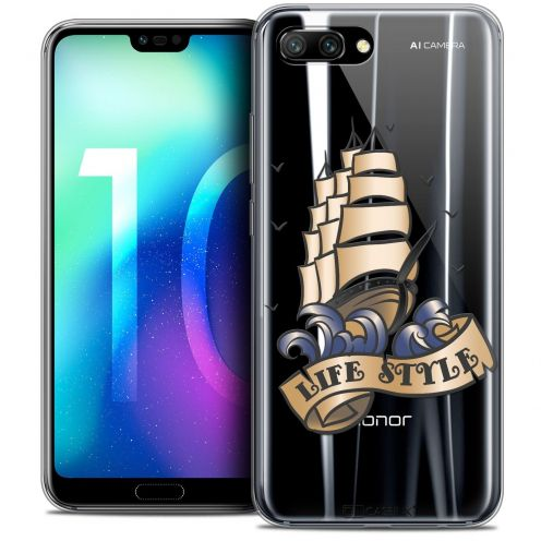 """Coque Crystal Gel Huawei Honor 10 (5.8"""") Extra Fine Tatoo Lover - Life Style"""