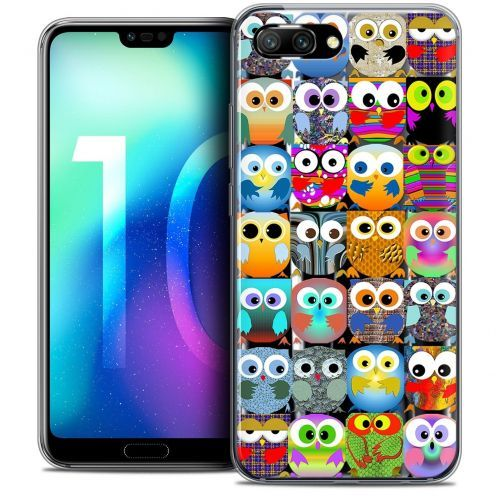 "Coque Crystal Gel Huawei Honor 10 (5.8"") Extra Fine Claude - Hibous"
