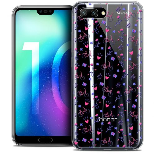 "Coque Crystal Gel Huawei Honor 10 (5.8"") Extra Fine Love - Bicycle"