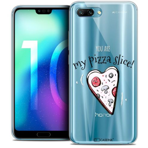 "Coque Crystal Gel Huawei Honor 10 (5.8"") Extra Fine Love - My Pizza Slice"