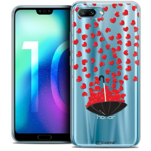 "Extra Slim Crystal Gel Huawei Honor 10 (5.8"") Case Love Parapluie d'Amour"