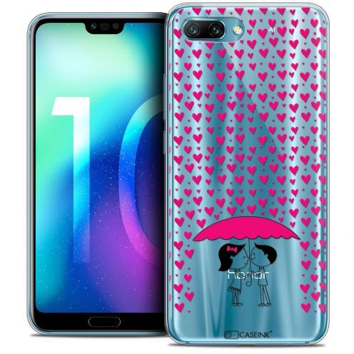 "Extra Slim Crystal Gel Huawei Honor 10 (5.8"") Case Love Pluie d'Amour"