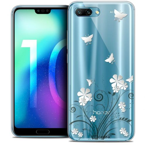 "Coque Crystal Gel Huawei Honor 10 (5.8"") Extra Fine Summer - Papillons"