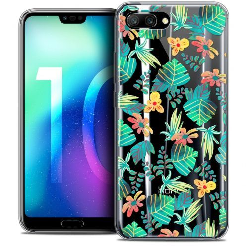 "Coque Crystal Gel Huawei Honor 10 (5.8"") Extra Fine Spring - Tropical"