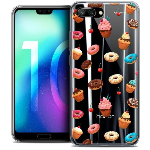 "Coque Crystal Gel Huawei Honor 10 (5.8"") Extra Fine Foodie - Donuts"