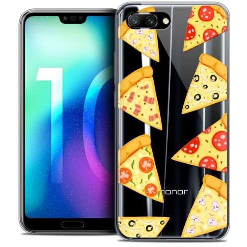 "Coque Crystal Gel Huawei Honor 10 (5.8"") Extra Fine Foodie - Pizza"