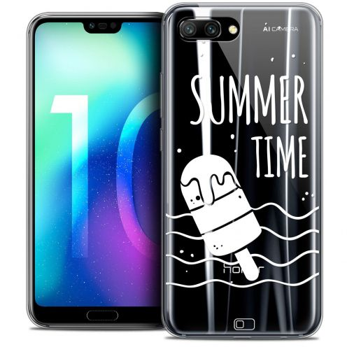 "Coque Crystal Gel Huawei Honor 10 (5.8"") Extra Fine Summer - Summer Time"