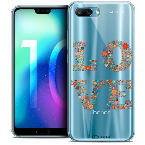 "Coque Crystal Gel Huawei Honor 10 (5.8"") Extra Fine Summer - Love Flowers"