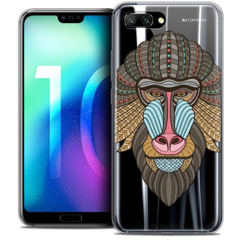 "Coque Crystal Gel Huawei Honor 10 (5.8"") Extra Fine Summer - Babouin"