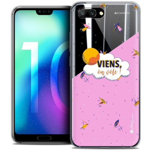 "Coque Gel Huawei Honor 10 (5.8"") Extra Fine Petits Grains® - VIENS, On Vole !"