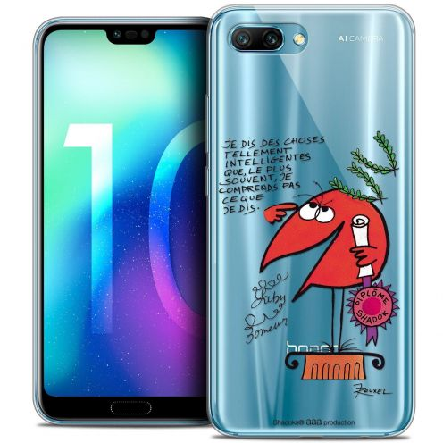 "Coque Gel Huawei Honor 10 (5.8"") Extra Fine Les Shadoks® - Intelligent"