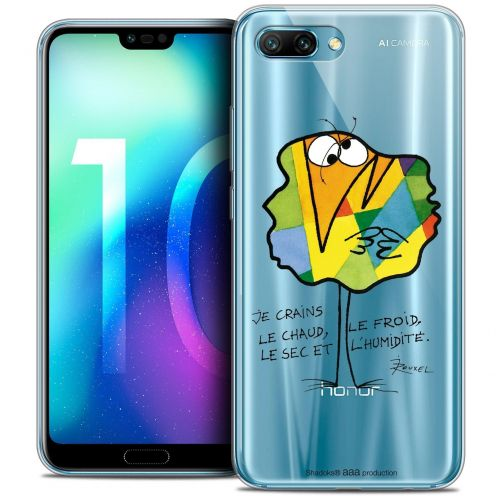 "Coque Gel Huawei Honor 10 (5.8"") Extra Fine Les Shadoks® - Chaud ou Froid"
