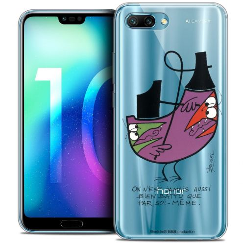 "Coque Gel Huawei Honor 10 (5.8"") Extra Fine Les Shadoks® - Soi-Même"