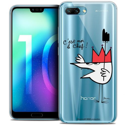 "Coque Gel Huawei Honor 10 (5.8"") Extra Fine Les Shadoks® - Le Chef"