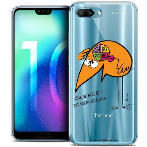 "Coque Gel Huawei Honor 10 (5.8"") Extra Fine Les Shadoks® - Silence !"