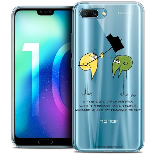 "Coque Gel Huawei Honor 10 (5.8"") Extra Fine Les Shadoks® - A Force"