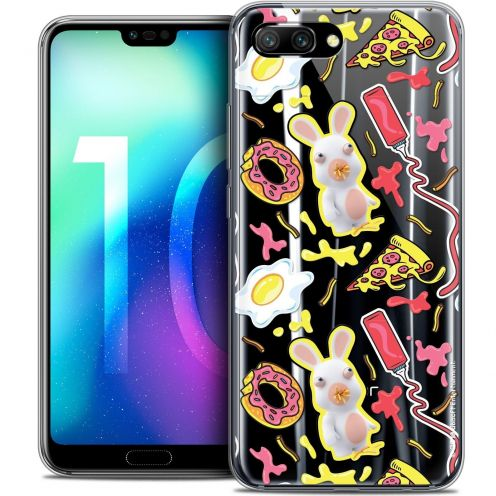 """Coque Gel Huawei Honor 10 (5.8"""") Extra Fine Lapins Crétins™ - Egg Pattern"""