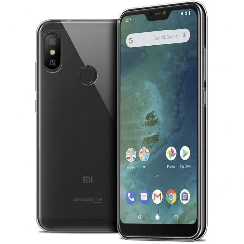 "Extra Slim 1mm Crystal Clear Mi A2 LITE Flexible Case Xiaomi Mi A2 LITE (5.8"")"