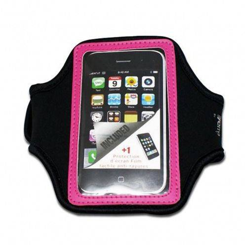 Armband Sport neoprene iPhone 3G / iPhone 4 / 4s / Touch pink