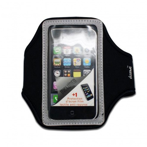 Armband Sport neoprene iPhone 3G / iPhone 4 / 4s / Touch grey