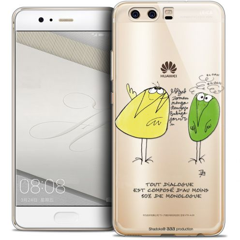 Extra Slim Crystal Gel Huawei P10 Case Les Shadoks® Le Dialogue