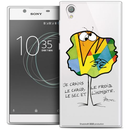 "Extra Slim Crystal Gel Sony Xperia L1 (5.5"") Case Les Shadoks® Chaud ou Froid"