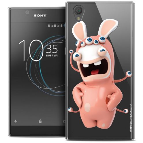 """Crystal Gel Sony Xperia L1 (5.5"""") Case Lapins Crétins™ Extraterrestre"""