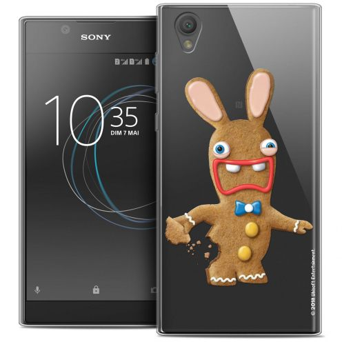 """Crystal Gel Sony Xperia L1 (5.5"""") Case Lapins Crétins™ Cookie"""
