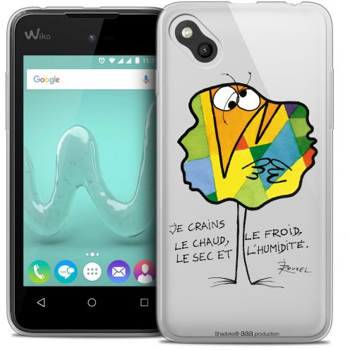 Extra Slim Crystal Gel Wiko Sunny Case Les Shadoks® Chaud ou Froid