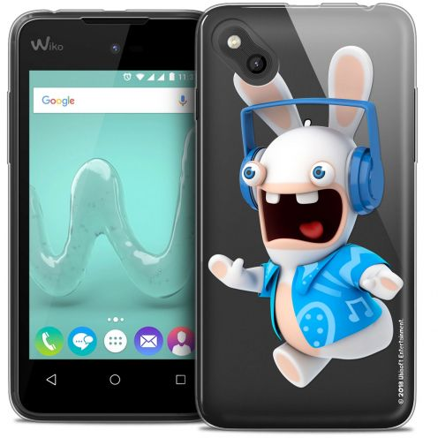 Crystal Gel Wiko Sunny Case Lapins Crétins™ Techno Lapin