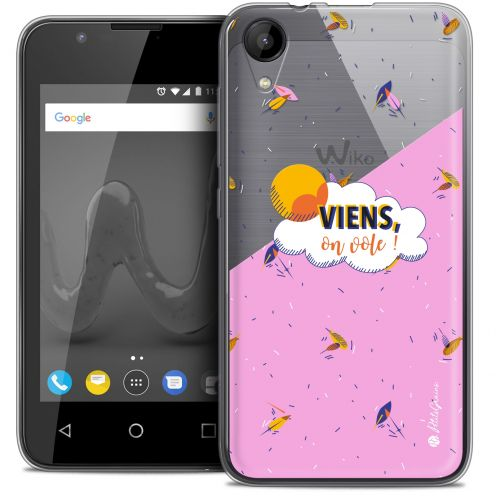 "Extra Slim Crystal Gel Wiko Sunny 2 (4"") Case Petits Grains® VIENS, On Vole !"