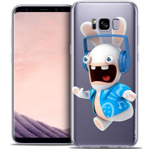 Crystal Gel Samsung Galaxy S8 (G950) Case Lapins Crétins™ Techno Lapin