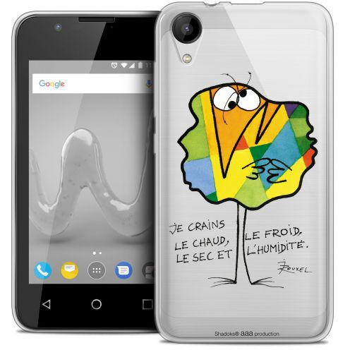 "Extra Slim Crystal Gel Wiko Sunny 2 (4"") Case Les Shadoks® Chaud ou Froid"