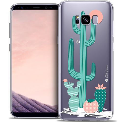 Extra Slim Crystal Gel Samsung Galaxy S8+/ Plus (G955) Case Petits Grains® A l'Ombre des Cactus