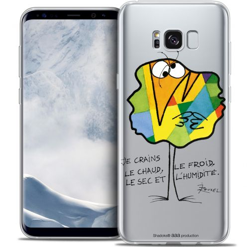 Extra Slim Crystal Gel Samsung Galaxy S8+/ Plus (G955) Case Les Shadoks® Chaud ou Froid