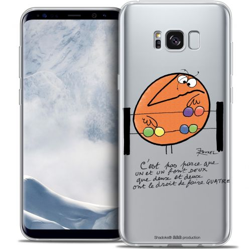 Extra Slim Crystal Gel Samsung Galaxy S8+/ Plus (G955) Case Les Shadoks® Mathématique