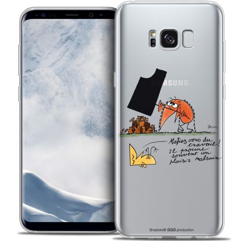 Extra Slim Crystal Gel Samsung Galaxy S8+/ Plus (G955) Case Les Shadoks® Le Travail